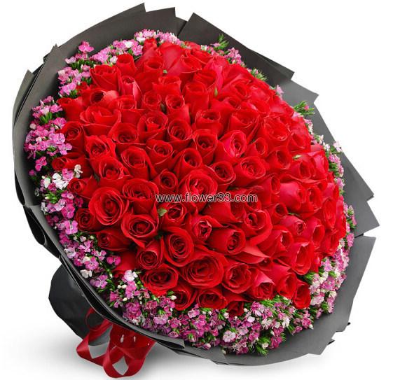 嫁给我吧 - 九十九朵玫瑰预订