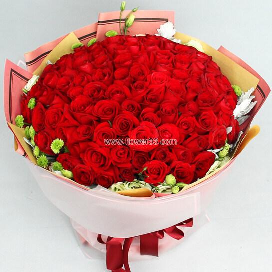 爱的意义 - 红色玫瑰花花束