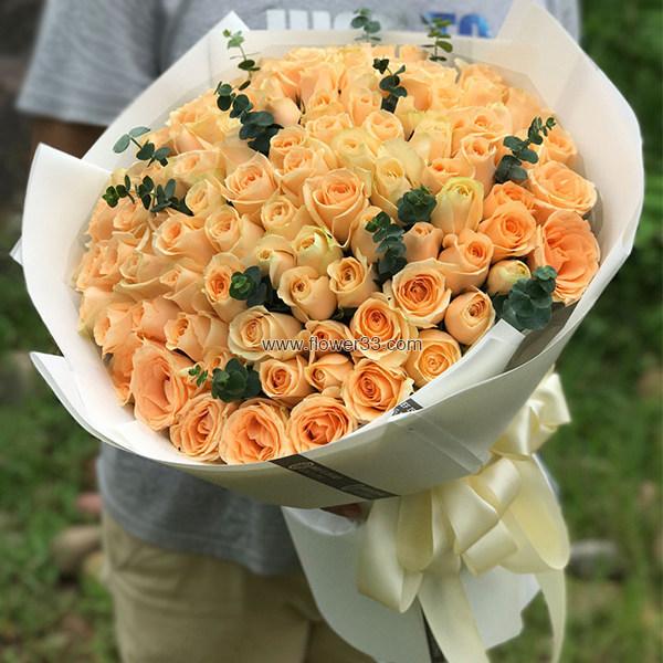 I Miss You - 玫瑰花预订