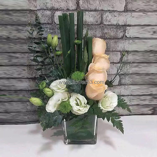 美人计桌子杯花台花 - 签到桌花