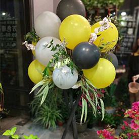 恭贺新喜 - 开业花篮气球